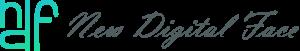 new digital face logo